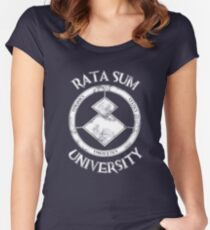 Rata Sum University Women's Fitted Scoop T-Shirt