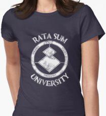 Rata Sum University Womens Fitted T-Shirt