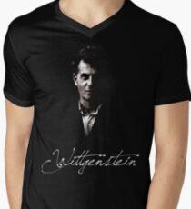 Wittgenstein Mens V-Neck T-Shirt