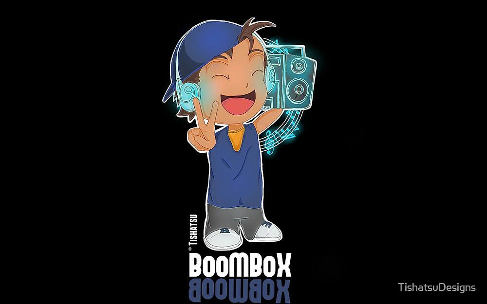 BoomBox, Music, Bass, Musical, HipHop, Beats, DJ  by TishatsuDesigns