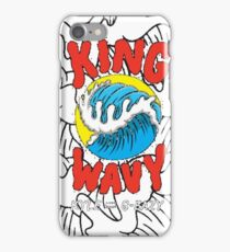 King Wavy  iPhone Case/Skin