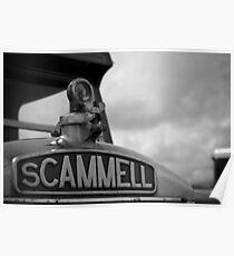 Scammell Truck Poster