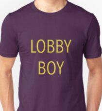 The Grand Budapest Hotel - Lobby Boy Unisex T-Shirt