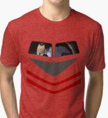 Otto Pilot - Airplane! Tri-blend T-Shirt
