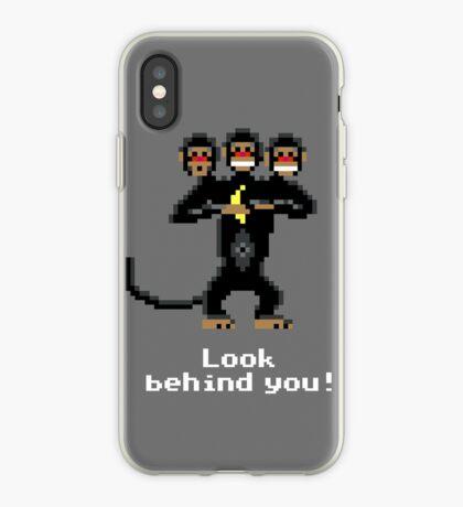 Three-Headed Monkey V2 iPhone Case