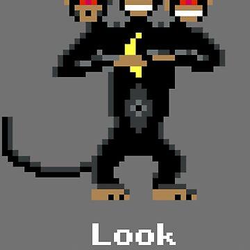 Three-Headed Monkey V2 by rkrovs