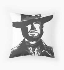 The Man With No Name Throw Pillow