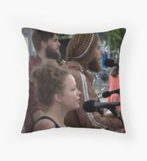 The Jazz Disciples Throw Pillow
