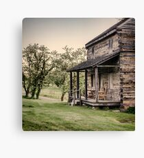 Homestead at Dusk Canvas Print