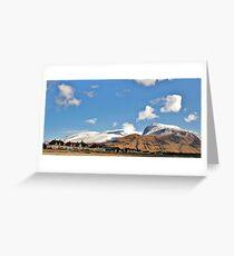 Ben Nevis Greeting Card