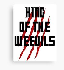King of The Weevils (Print) - Torchwood Canvas Print