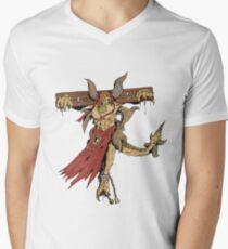 Shackled Demon Men's V-Neck T-Shirt