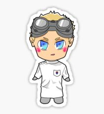 Chibi Dr. Horrible Sticker