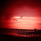 red pier by Perggals© - Stacey Turner