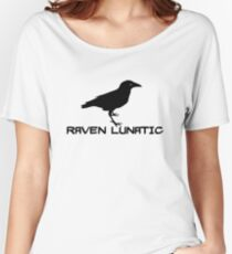Raven Lunatic Women's Relaxed Fit T-Shirt