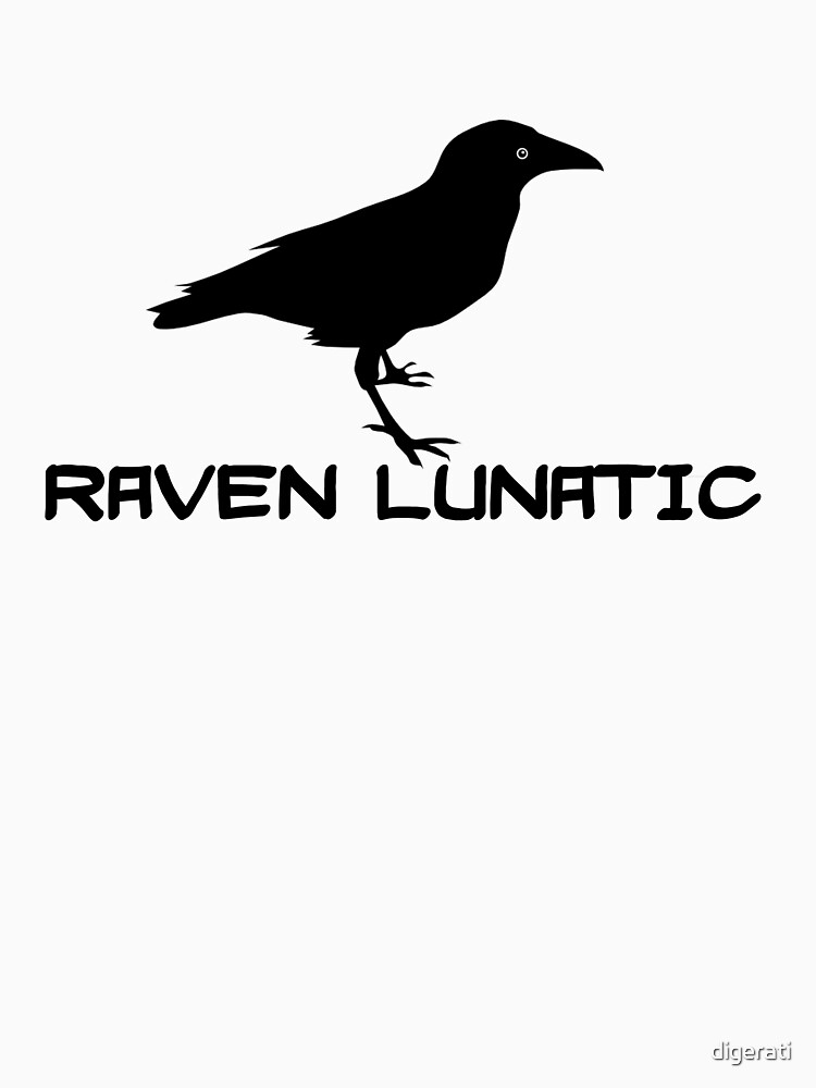 Raven Lunatic by digerati