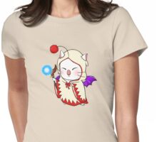 Moogle - White Mage Womens Fitted T-Shirt