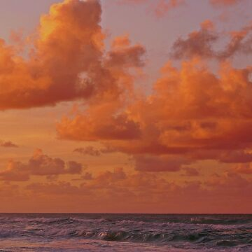 Clouds Over The Sea by cherylorraine