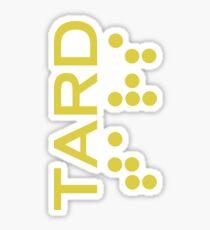Interstellar - TARD robot logo Sticker