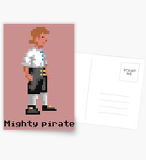 Mighty Pirate Postcards