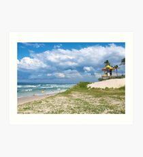Oasis Beach ~ Gold Coast Art Print