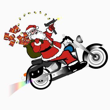 Santa's Ride by ScrapBrain