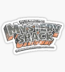 Mystery Shack (Distressed Look) Sticker