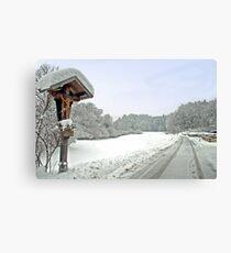 Winter in Tirol - Austria Canvas Print