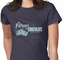 My Patronus Is Chocolate Womens Fitted T-Shirt