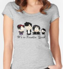 South Park Goth Kids Women's Fitted Scoop T-Shirt