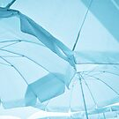 Beach umbrellas by Daniel Sorine