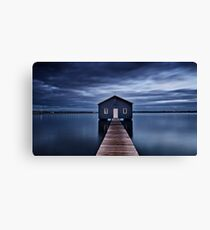 'The Boatshed' Canvas Print