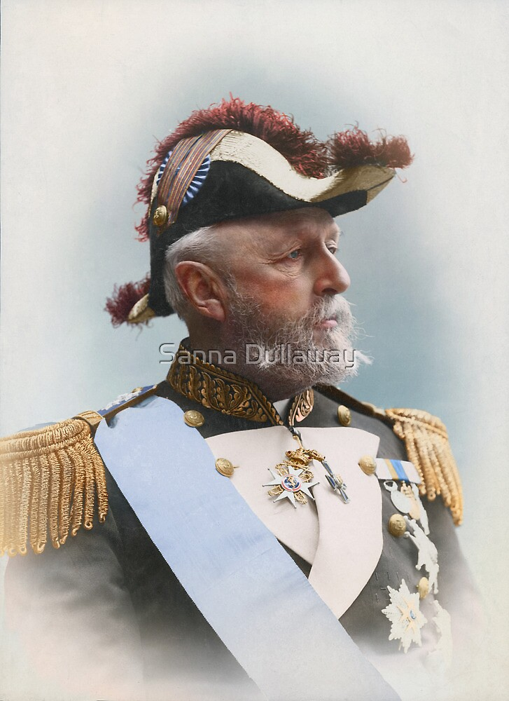 Oscar II, king of Sweden and Norway — ca 1880 by Sanna Dullaway
