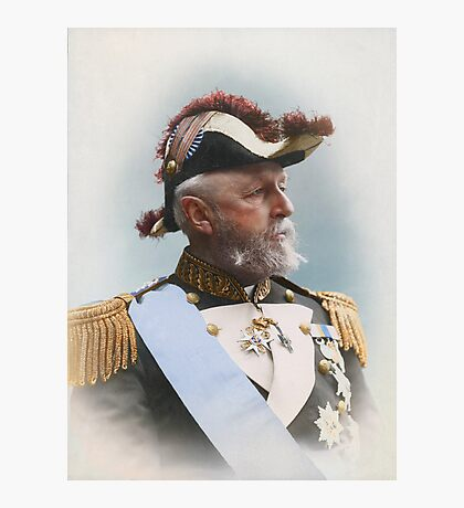 Oscar II, king of Sweden and Norway — ca 1880 Photographic Print