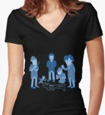 The Sleuths of Baker Street Women's Fitted V-Neck T-Shirt