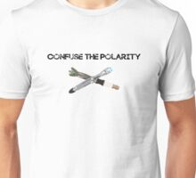 Confuse the Polarity 2 Unisex T-Shirt