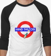 Mind the Cork Men's Baseball ¾ T-Shirt