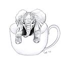Little Elephant in a BIG mug by itssabbyg