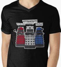Exterminate! Men's V-Neck T-Shirt