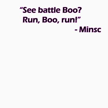 Minsc - See battle Boo? by amonamarthkid