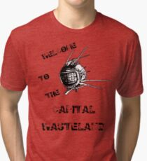 Capital Wasteland Tri-blend T-Shirt