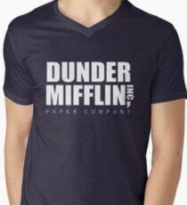 Dunder Mifflin Men's V-Neck T-Shirt