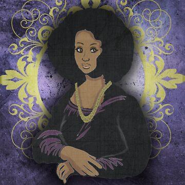 African Mona Lisa by tokyoterror