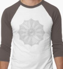 Ahna Mandala Men's Baseball ¾ T-Shirt