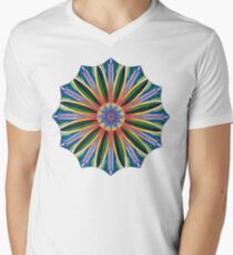 Ahna Mandala #3 Men's V-Neck T-Shirt