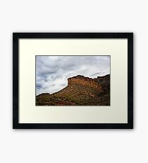 Light After Storm on Apache Trail Framed Print