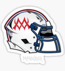 mw Helmet Sticker