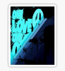 One love... Sticker
