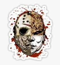 HORROR MASHUP Sticker