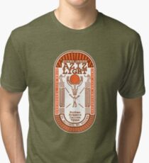 Aziz Light-The Divine Brew-alternate Tri-blend T-Shirt